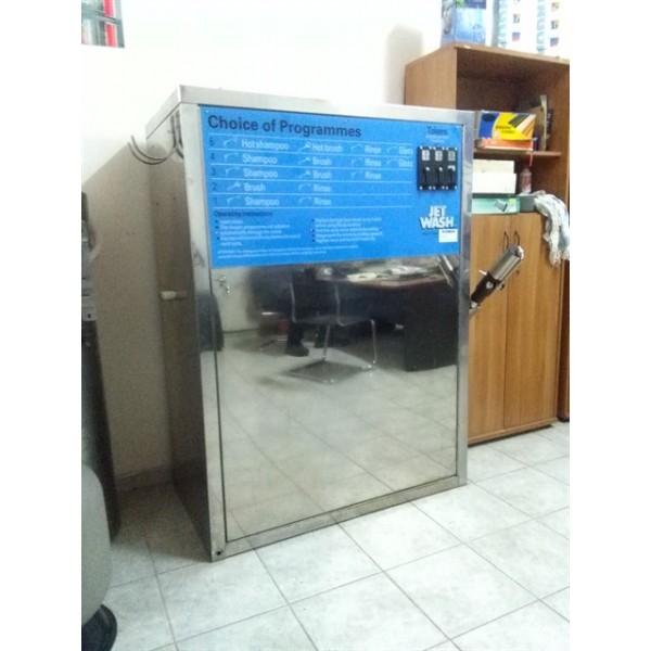 Μηχανήματα self service εξωτερικού - εσωτερικού καθαρισμού